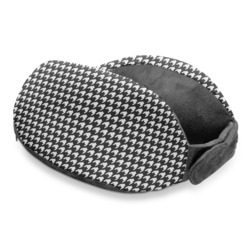 Houndstooth Travel Neck Pillow