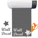 Houndstooth Pattern Vinyl Sheet (Re-position-able)