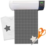 Houndstooth Heat Transfer Vinyl Sheet (12