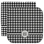Houndstooth Facecloth / Wash Cloth (Personalized)