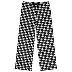 Houndstooth Womens Pajama Pants (Personalized)