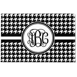 Houndstooth Woven Mat (Personalized)