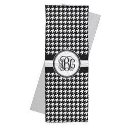 Houndstooth Yoga Mat Towel (Personalized)