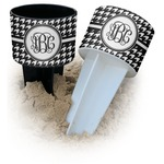 Houndstooth Beach Spiker Drink Holder (Personalized)