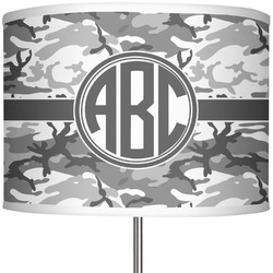 """Camo 13"""" Drum Lamp Shade Polyester (Personalized)"""