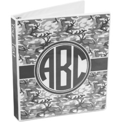 Camo 3-Ring Binder (Personalized)