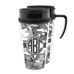 Camo Acrylic Travel Mugs (Personalized)
