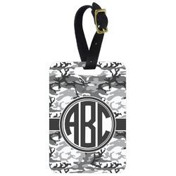 Camo Aluminum Luggage Tag (Personalized)