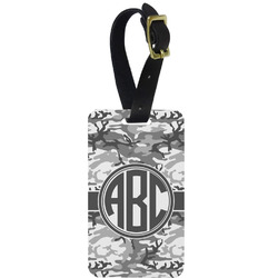 Camo Aluminum Luggage Tag (Personalized)