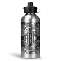 Camo Water Bottle - Aluminum - 20 oz (Personalized)