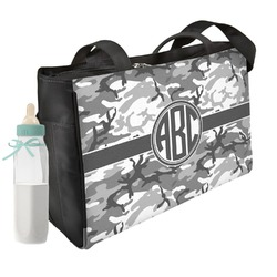 Camo Diaper Bag w/ Monogram