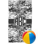 Camo Beach Towel (Personalized)