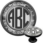 Camo Cabinet Knob (Black) (Personalized)