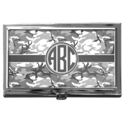 Camo Business Card Case