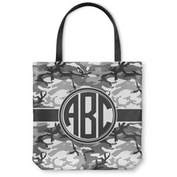Camo Canvas Tote Bag (Personalized)