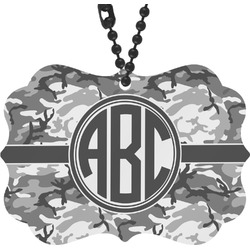 Camo Rear View Mirror Charm (Personalized)