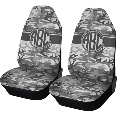 Camo Car Seat Covers (Set of Two) (Personalized)
