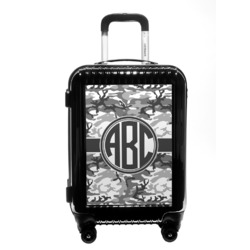 Camo Carry On Hard Shell Suitcase (Personalized)