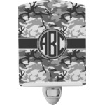 Camo Ceramic Night Light (Personalized)