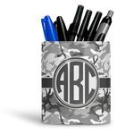Camo Ceramic Pen Holder
