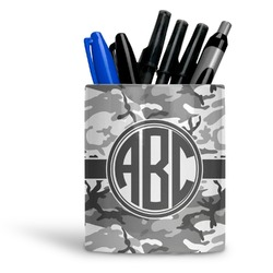 Camo Ceramic Pen Holder