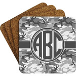 Camo Coaster Set w/ Stand (Personalized)