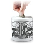 Camo Coin Bank (Personalized)