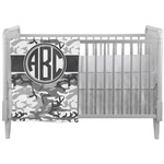 Camo Crib Comforter / Quilt (Personalized)