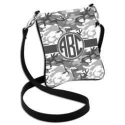 Camo Cross Body Bag - 2 Sizes (Personalized)