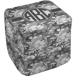 Camo Cube Pouf Ottoman (Personalized)