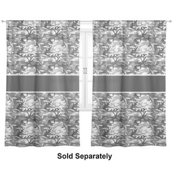 "Camo Curtains - 20""x54"" Panels - Lined (2 Panels Per Set) (Personalized)"