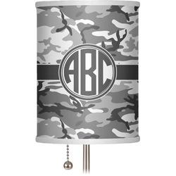 """Camo 7"""" Drum Lamp Shade (Personalized)"""