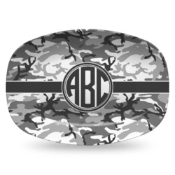 Camo Plastic Platter - Microwave & Oven Safe Composite Polymer (Personalized)