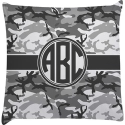 Camo Decorative Pillow Case (Personalized)