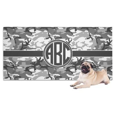 Camo Dog Towel (Personalized)