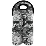 Camo Wine Tote Bag (2 Bottles) (Personalized)