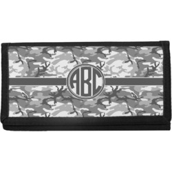 Camo Canvas Checkbook Cover (Personalized)