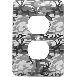 Camo Electric Outlet Plate (Personalized)