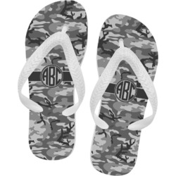 Camo Flip Flops (Personalized)