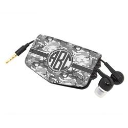 Camo Genuine Leather Cord Wrap (Personalized)
