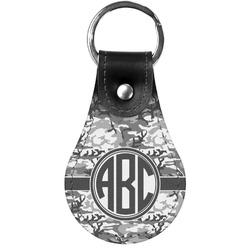 Camo Genuine Leather  Keychain (Personalized)