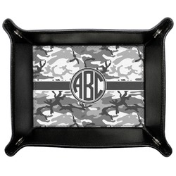 Camo Genuine Leather Valet Tray (Personalized)