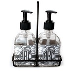 Camo Soap & Lotion Dispenser Set (Glass) (Personalized)