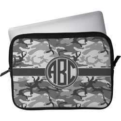 """Camo Laptop Sleeve / Case - 13"""" (Personalized)"""