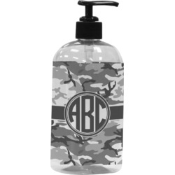Camo Plastic Soap / Lotion Dispenser (Personalized)