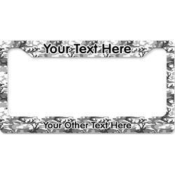 Camo License Plate Frame (Personalized)