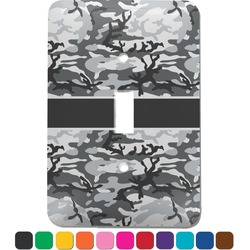 Camo Light Switch Cover (Single Toggle) (Personalized)
