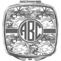 Camo Compact Makeup Mirror (Personalized)