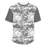 Camo Men's Crew T-Shirt (Personalized)