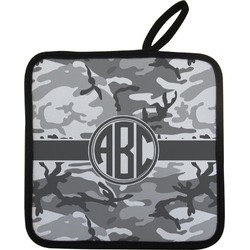 Camo Pot Holder w/ Monogram